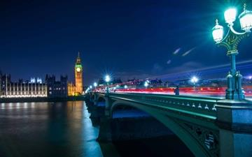 London Night  Mac wallpaper