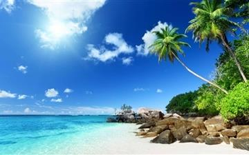 Paradise Beach Mac wallpaper