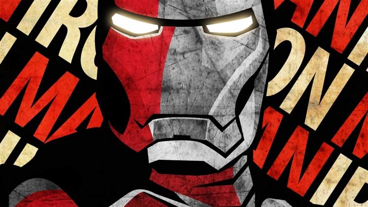 Shepherd Fairey Iron Man Poster Mac Wallpaper
