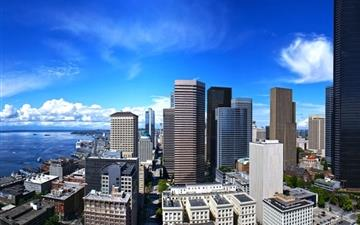 Seattle Town Wallpaper Mac wallpaper