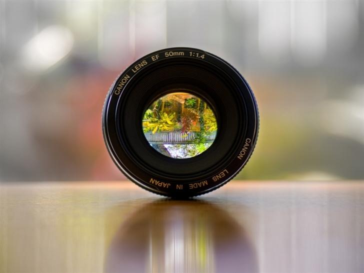 Canon Lens Mac Wallpaper