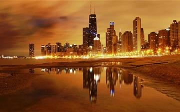 Chicago Late Evening All Mac wallpaper