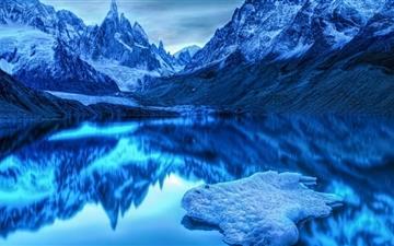 Cold Landscape Mac wallpaper