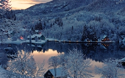 Mountain Resort Winter