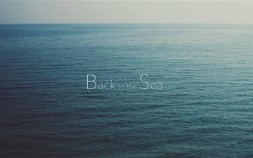 Back To The Sea All Mac wallpaper