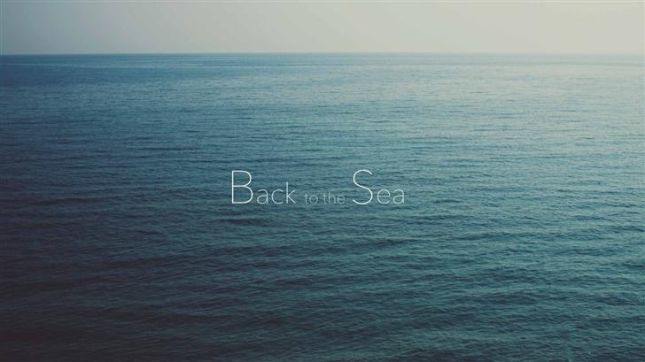 Back To The Sea Mac Wallpaper