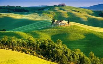 Beautiful Tuscany Landscape Mac wallpaper