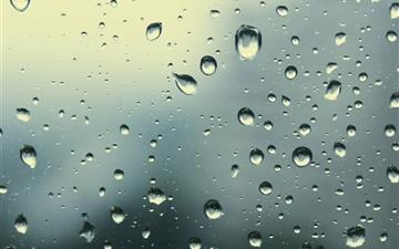Rain Drops 5 MacBook Air wallpaper