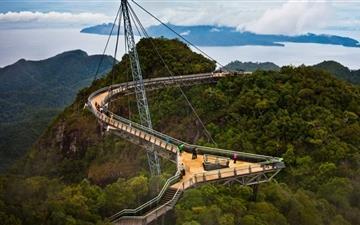 Langkawi Sky Bridge Mac wallpaper