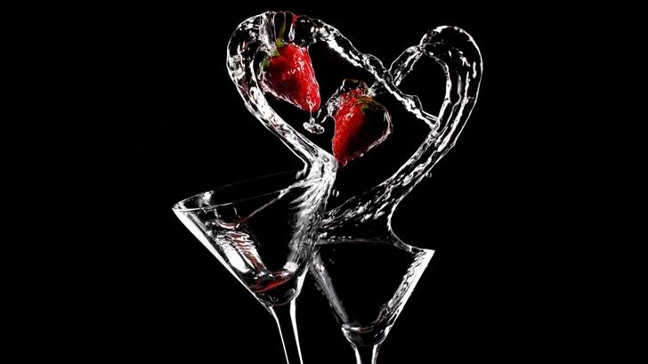 Love Cocktail Mac Wallpaper