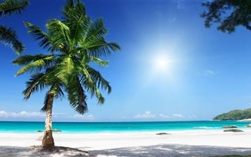 Sunny Beach Mac wallpaper
