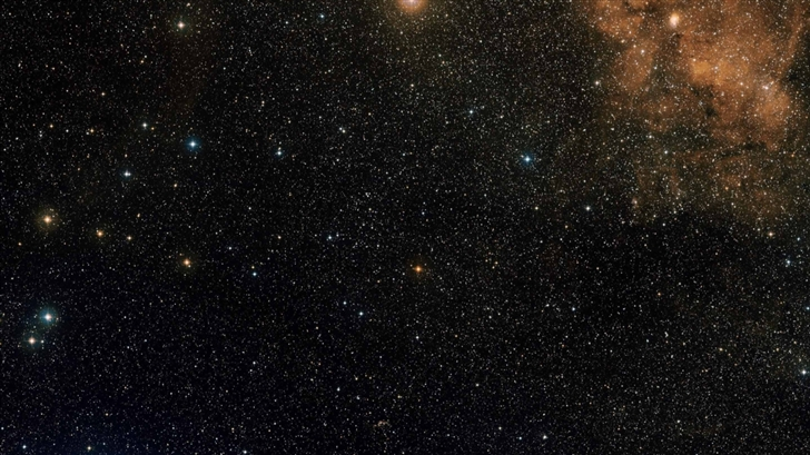 Stars Field And Nebula Mac Wallpaper