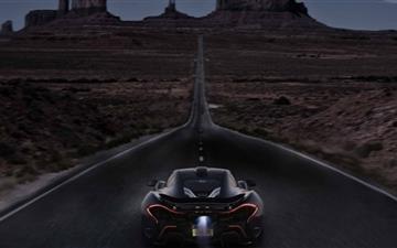 McLaren Night Mac wallpaper