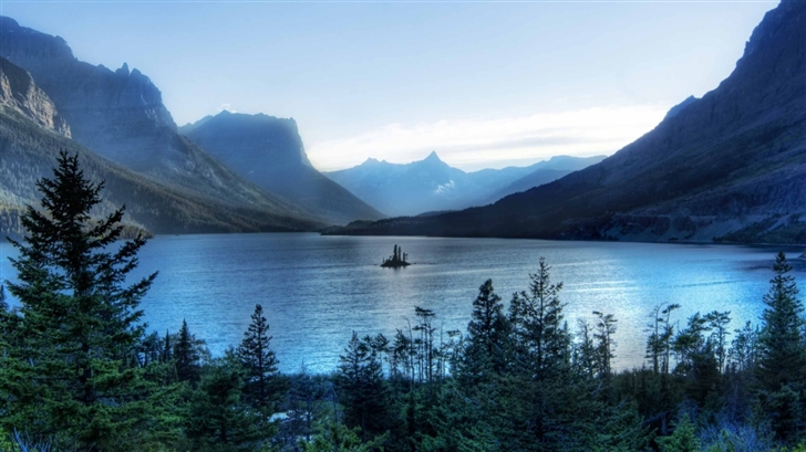 Morning At Glacier National Park Mac Wallpaper Download