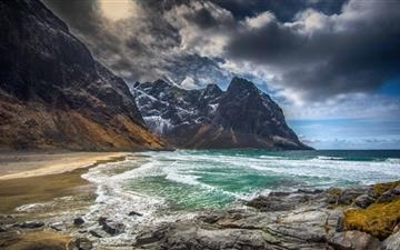 Norway Beach  Mac wallpaper