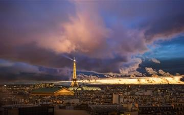 Paris After The Storm Mac wallpaper