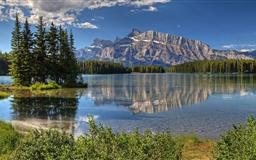 Banff Park Alberta Canada Trees