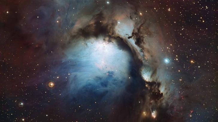 Blue Hole Nebula Mac Wallpaper
