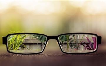 Clear Vision Mac wallpaper
