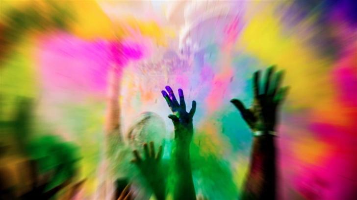 Color Burst Mac Wallpaper