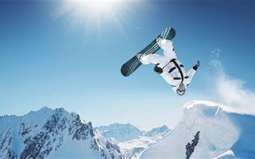 Extreme Snowboarding All Mac wallpaper