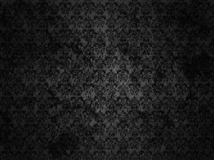 Black Floral Grunge Mac Wallpaper