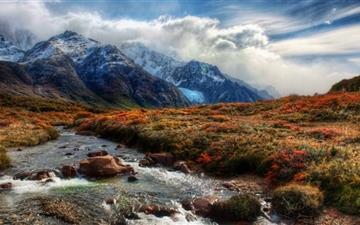 Mountain Stream Mac wallpaper