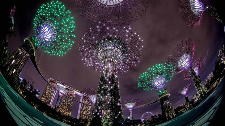 Singapore View Mac Wallpaper