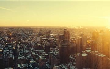 Urban Sunrise Mac wallpaper