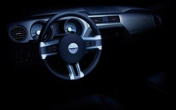 Ford Mustang Convertible Dashboard All Mac wallpaper