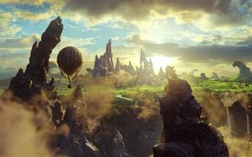 Oz The Great And Powerful Scene Mac wallpaper