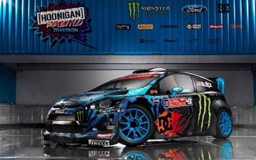 Ford Fiesta Monster Ken Block Mac wallpaper