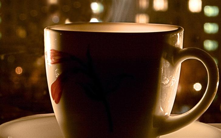 Cup Of Tea Mac Wallpaper