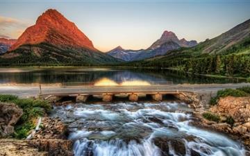 The Glacier National Park Mac wallpaper