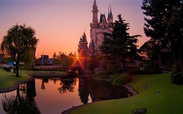 Tokyo Disneyland Of The Rising Sun Mac wallpaper