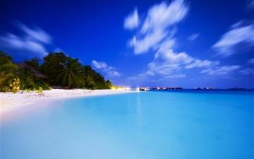 Maldivian Night Mac wallpaper