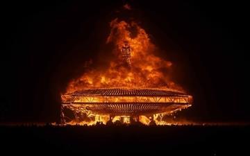 Burning Man Mac wallpaper