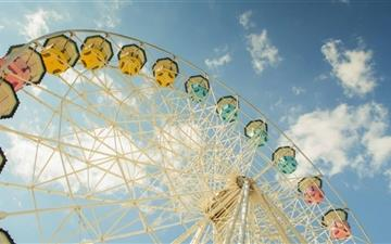 Ferris Wheel MacBook Air wallpaper