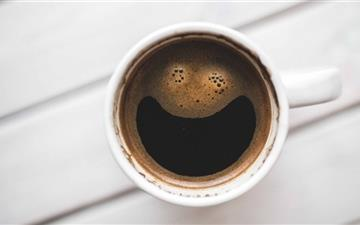 Happy Coffee Mac wallpaper