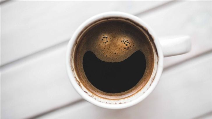 Happy Coffee Mac Wallpaper