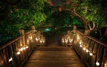 Wooden Bridge All Mac wallpaper