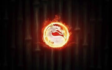 Mortal Kombat Logo Mac wallpaper