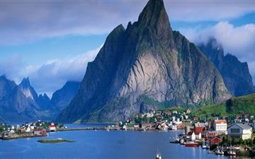 Norway Scenery All Mac wallpaper