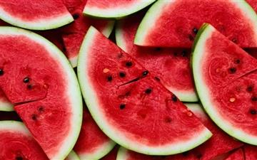 Sliced Watermelon Mac wallpaper