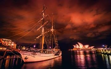 Sydney Harbor Mac wallpaper