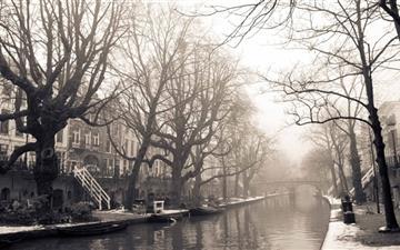 City Mist Winter Mac wallpaper