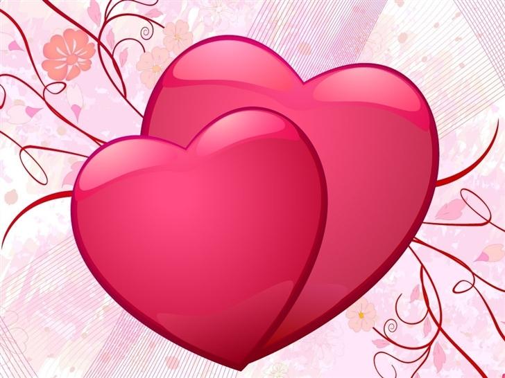 Couple Of Hearts Mac Wallpaper