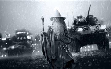 Gandalf The Grey All Mac wallpaper