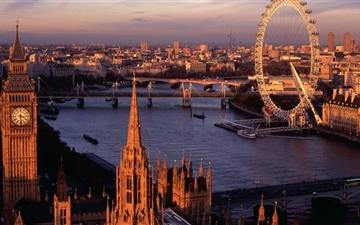 London Panorama Mac wallpaper
