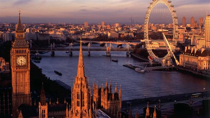 London Panorama Mac Wallpaper